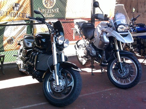 Triumph vs. BMW